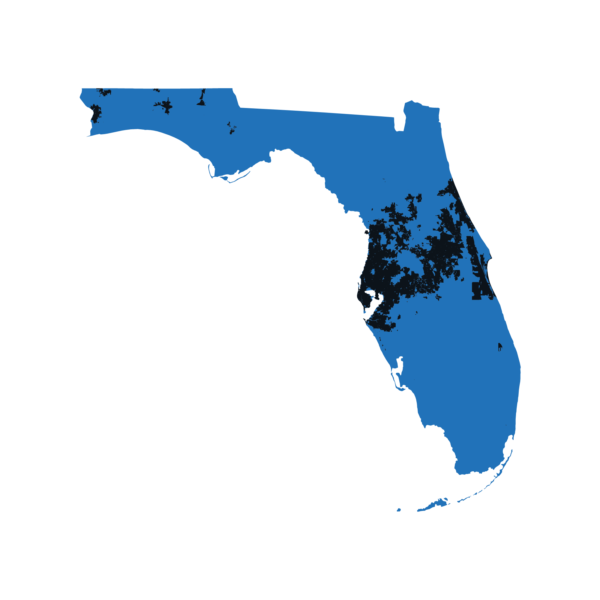 Florida map data image