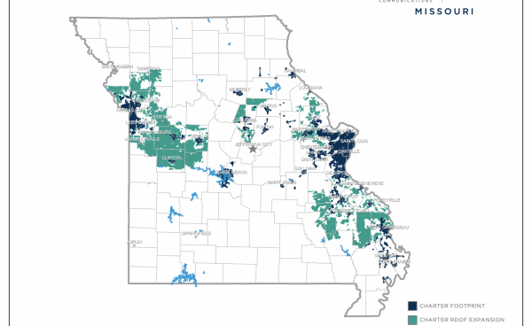 Charter MO Footprint and RDOF Expansion